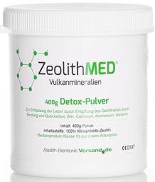 Zeolith MED® 400 g -Pulver