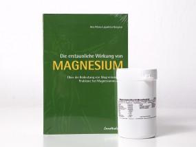 Magnesiumchlorid Hexahydrat 500 g und Buch Kampf der Arthrose