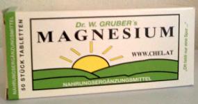 Magnesium Chelat 50 Tabletten