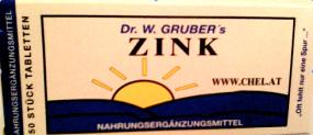 Zink Chelat Kombination